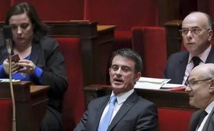 Manuel Valls à l'Assemblée nationale le 29 novembre 2016