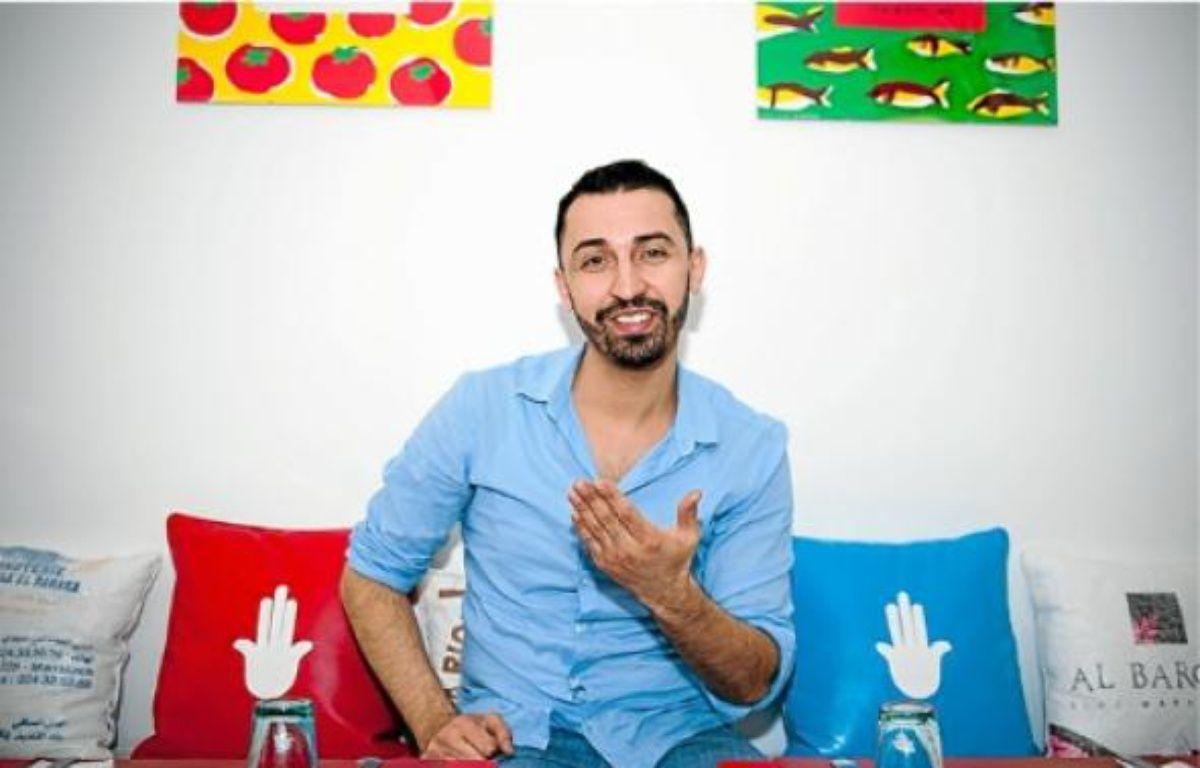 Sid Nouar a ouvert un restaurant marocain pour sourds et entendants. –  V. WARTNER / 20 MINUTES