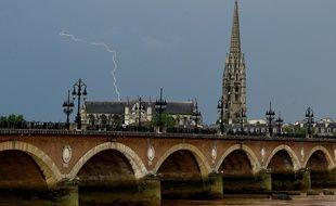 Bordeaux a subi des épisodes orageux ce week-end.
