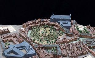 Le plan-relief de Lille a été restauré