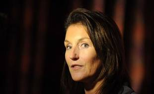 Cécilia Attias, ex-Sarkozy, en octobre 2008 en Californie.