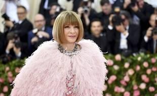 La rédactrice en chef de Vogue, Anna Wintour, président l'organisation du Met Gala.