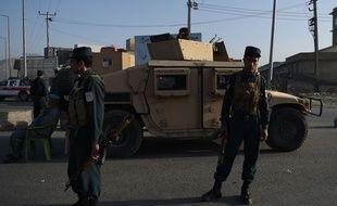 Un attentat au camion piégé a visé un hôtel près de Kaboul, en Afghanistan, le 1er août 2016.