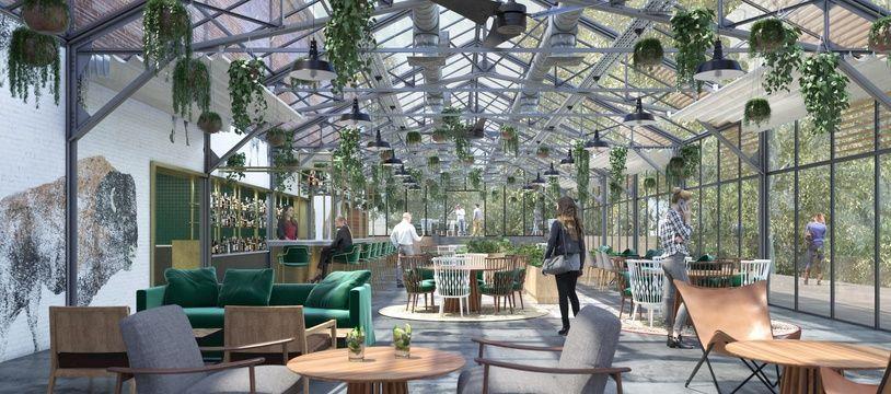 Le projet Food Factory, dans l'ancienne distillerie de La Vieille Cure dans la banlieue de Bordeaux, comportera un restaurant