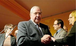 Jean-Paul Huchon a présenté ses vœux jeudi dernier en compagnie de ses vice-présidents de l'Ile-de-France.