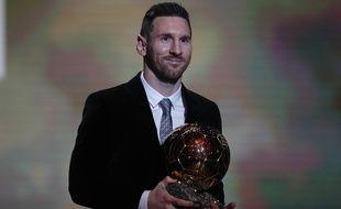 Lionel Messi a remporté son sixième Ballon d'or, le 2 décembre 2019 à Paris.