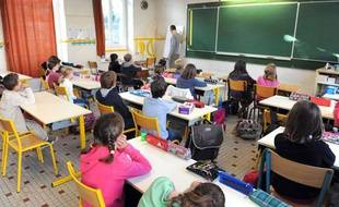 Une école à Nantes (Loire-Atlantique).