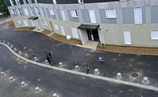 La cité de la Grande Borne, quartier sensible de Grigny (Essonne).