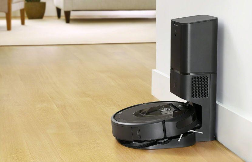 Test aspirateur iRobot Roomba i7+: Après avoir tout aspiré, le robot vide son sac tout seul