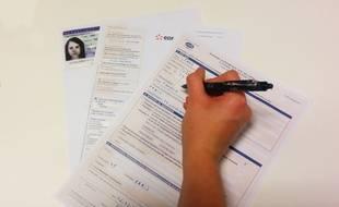 Il me faut une photocopie de carte d'identité et de mon justificatif de domicile, ainsi que le document Cerfa.