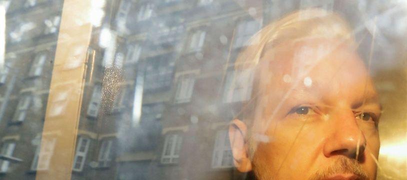 Julian Assange, le 1er mai 2019, à Londres.