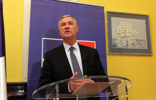 Le préfet de région Bretagne Patrick Strzoda le 14 novembre 2015 à Rennes.