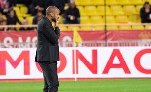 Thierry Henry est en difficulté à la tête de l'AS Monaco.