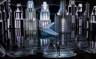 Jimmy Kimmel présente la cérémonie des Oscars, le 26 février 2017.