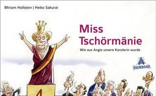 Angela Merkel dans la bande dessinée Miss Tschörmänie.