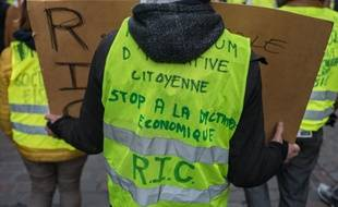 «Gilets jaunes» à Strasbourg: Huit mois de prison ferme pour avoir lancé un pavé sur les policiers (Illustration)