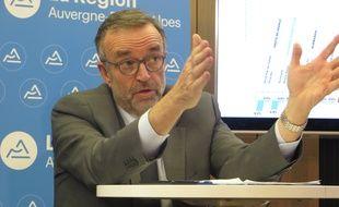 Etienne Blanc, premier vice-président LR de la région Auvergne-Rhône-Alpes et maire de Divonne-les-Bains.