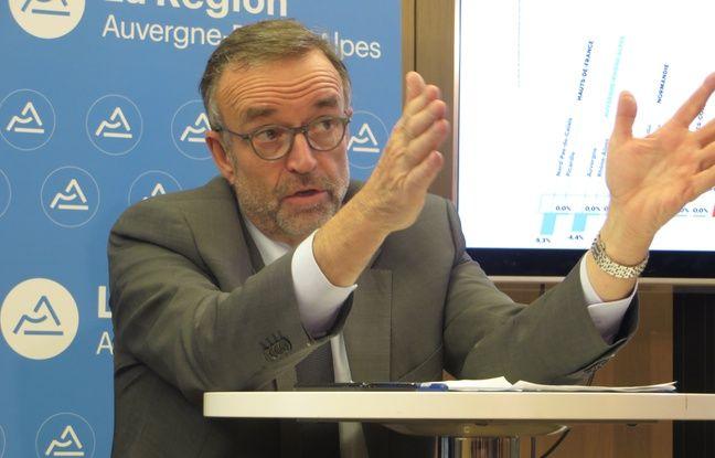 Lyon: Etienne Blanc (LR) officialise sa candidature aux municipales face à Gérard Collomb