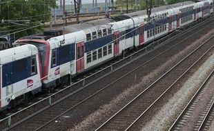 Mardi 17 janvier 2017. Le trafic du RER C perturbé jusqu'en début d'après-midi entre Paris et le Val d'Oise (Illustration). // V. WARTNER / 20 MINUTES