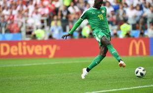 Mbaye Niang a marqué face à la Polognz