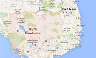 Le Cambodge.