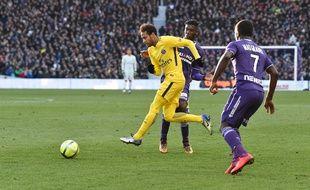 Neymar face au TFC, le 10 février 2018.