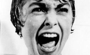 Janet Leigh dans la célèbre scène de la douche de «Psychose» d'Alfred Hitchcock.