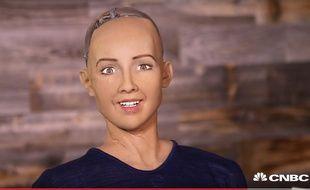 Le robot Sophia, de Hanson Robotics.