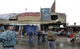 Attentat dans le quartier Bagdad al-Jadida le 7 février 2015 à Bagdad