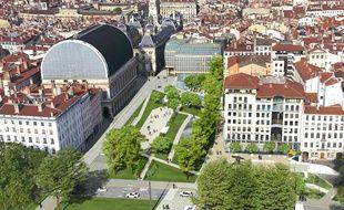 Les places Tolozan et Louis Pradel de Lyon vont subir une refonte complète à partir de l'année 2023.