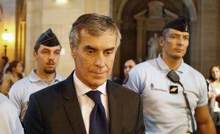 Jérôme Cahuzac au tribunal correctionnel de Paris le 14 septembre 2016.