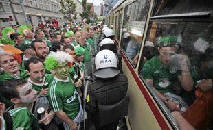 Les supporters irlandais dans les rues de Poznan, le 10 juin 2012.