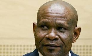 Mathieu Ngudjolo Chui lors de son procès le 18 décembre 2012 devant la CPI à La Haye
