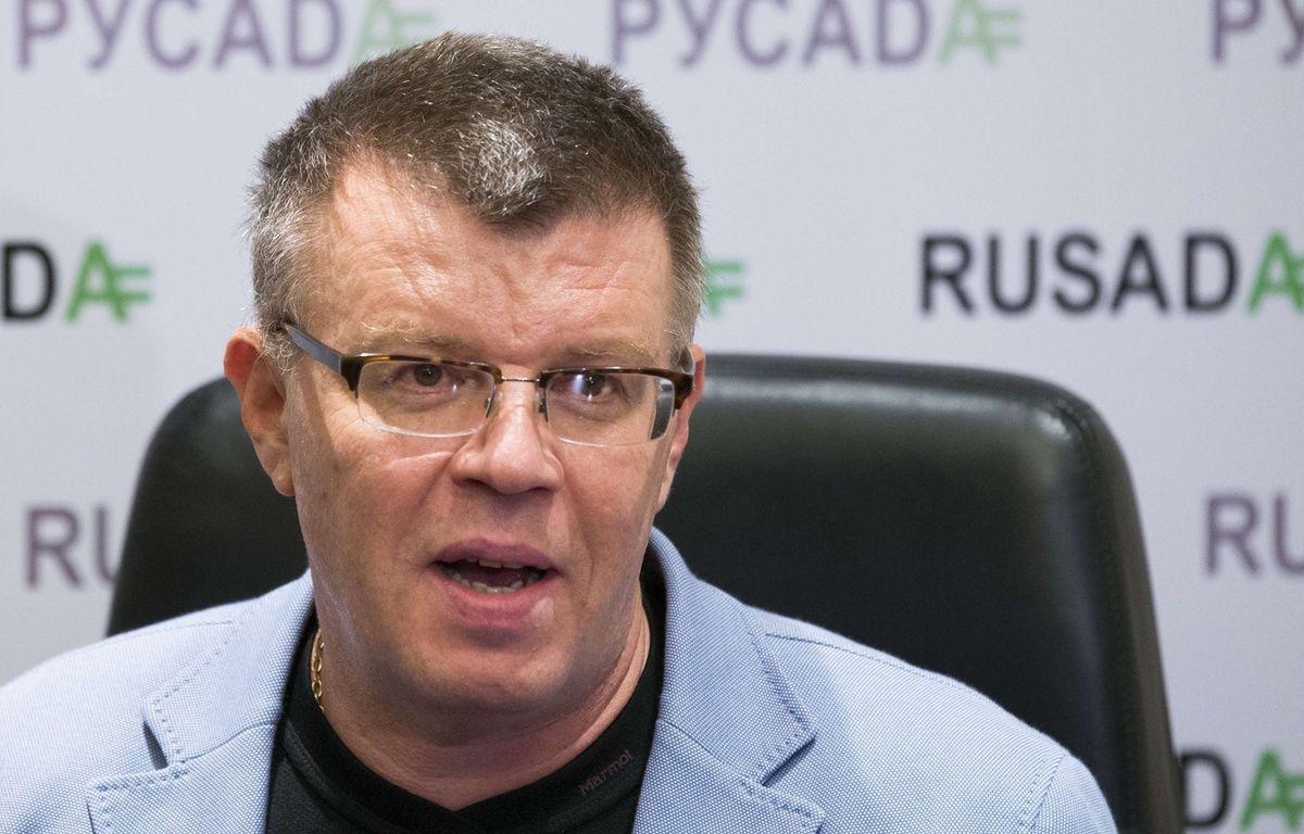 Nikita Kamaïev, l'ancien patron de l'agence anti-dopage russe, en novembre 2015, à Moscou. –  Alexander Zemlianichenko/AP/SIPA