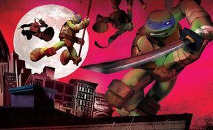 Les tortues Ninja 3D, actuellement diffusées sur France 4