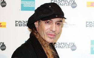 Le styliste John Galliano