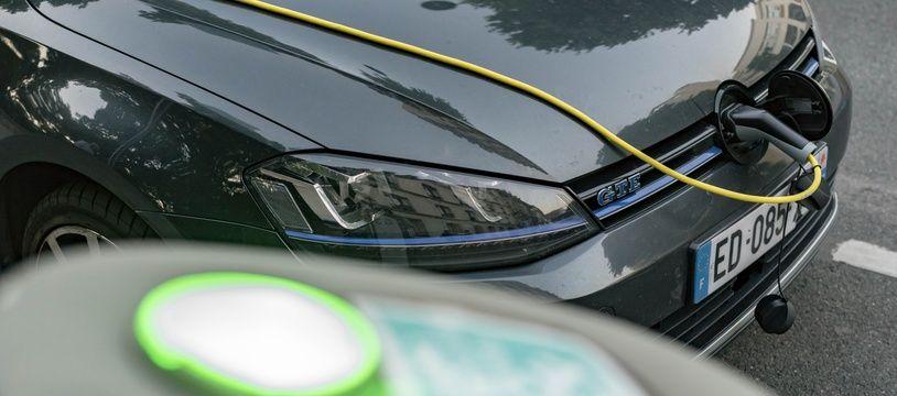 Image d'illustration d'une voiture électrique.