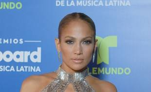 La chanteuse et actrice Jennifer Lopez à Miami