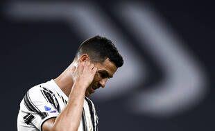 Cristiano Ronaldo lors de Juventus-Milan AC, le 9 mai 2021.