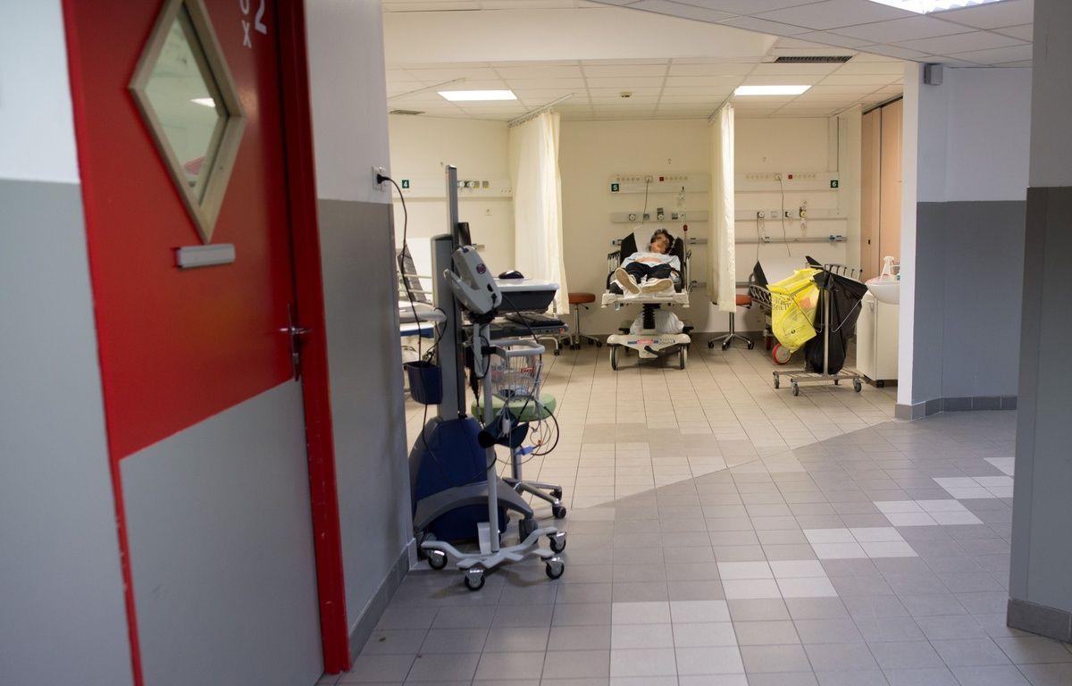 Illustration des services d'urgence dans un hôpital en France. –  LCHAM/SIPA