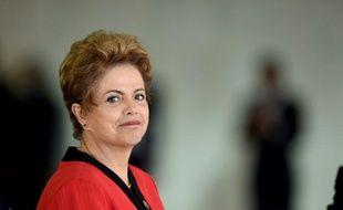 La présidente du Brésil, Dilma Rousseff, le 17 juillet 2015 à Brasilia