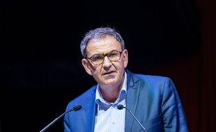 Le président de la Métropole de Lyon David Kimelfeld.