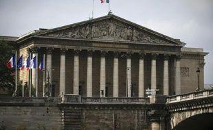 Une vue de l'Assemblée nationale à Paris