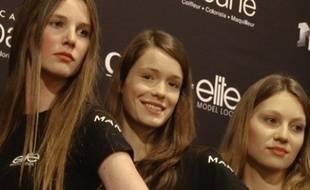 Six jeunes filles ont été sélectionnées le 7 mars lors du premier casting de la tournée Elite Model Look 2012 au Forum des Halles à Paris.