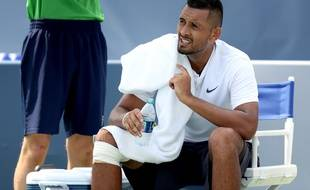 Nick Kyrgios en ébullition