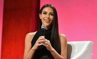 Kim Kardashian à New York le 27 septembre 2016.