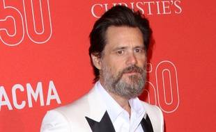 L'acteur Jim Carrey à Los Angeles