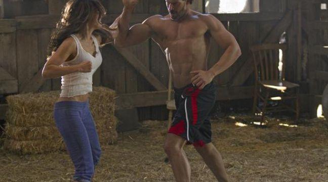 """L'acteur américain Joe Manganiello dans la saison 5 de """"True Blood"""". – HBO"""