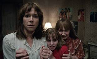 Frances O'Connor, Lauren Esposito et Madison Wolfe dans «Conjuring 2».