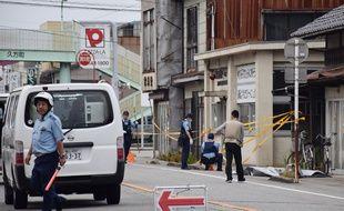 Deux personnes ont été tuées, dont un policier, le 26 juin 2018 dans l'attaque d'un poste de police au Japon.